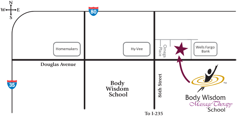 Body Wisdom Location