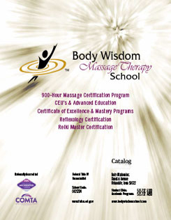Body Wisdom Massage Therapy School catalog